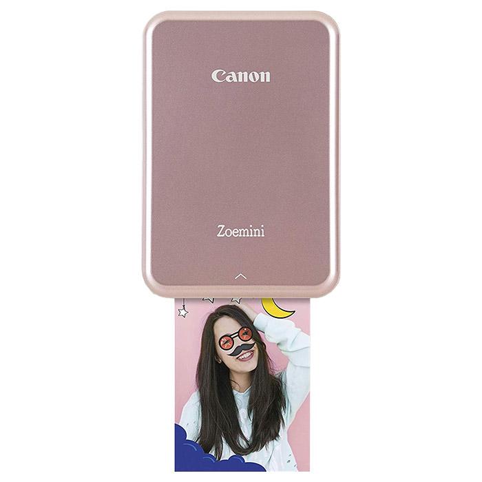 Мобільний фотопринтер CANON Zoemini PV123 Rose Gold