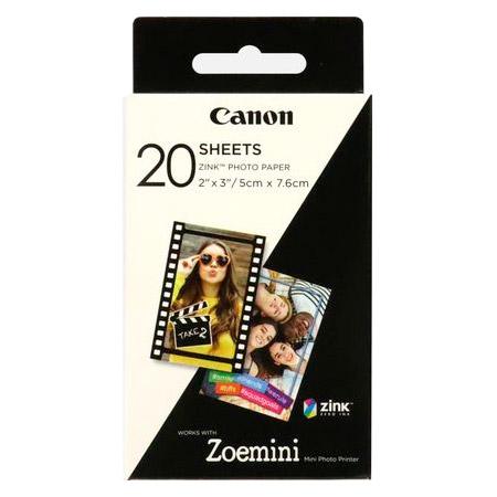 Фотопапір CANON Zink 5x7.6см 20л (3214C002)