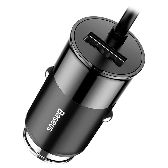 Автомобильное зарядное устройство BASEUS Enjoy Together 5.5A Black (CCTON-01)