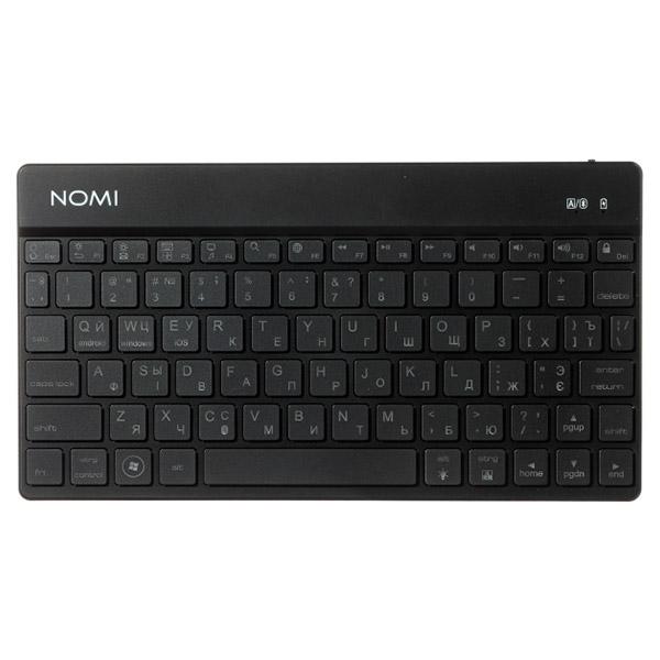 Клавіатура бездротова NOMI KBB-302 Black (245151)