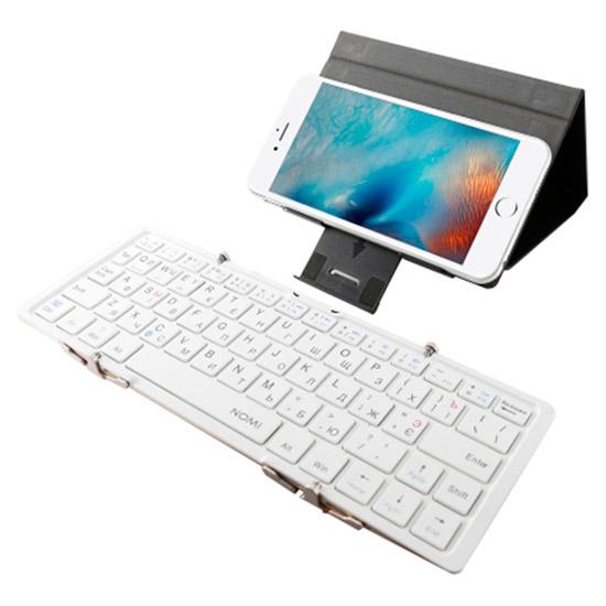 Клавіатура бездротова NOMI KBB-303 Gold (245401)