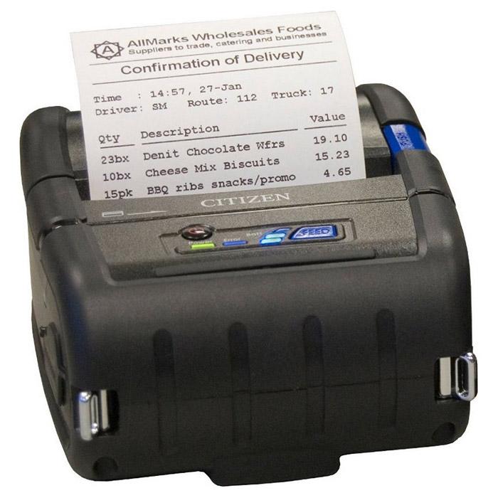Портативний принтер етикеток CITIZEN CMP-30IIL USB/COM/BT