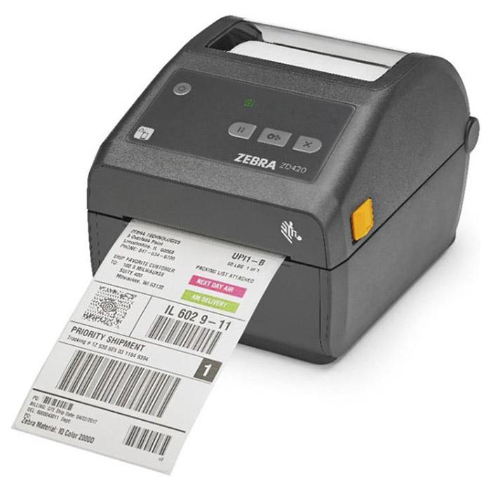 Принтер етикеток ZEBRA ZD420d (USB, Ethernet, BT) (ZD42042-T0EE00EZ)