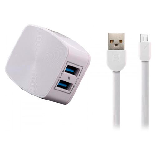 Зарядное устройство REMAX RP-U215 Micro-USB White