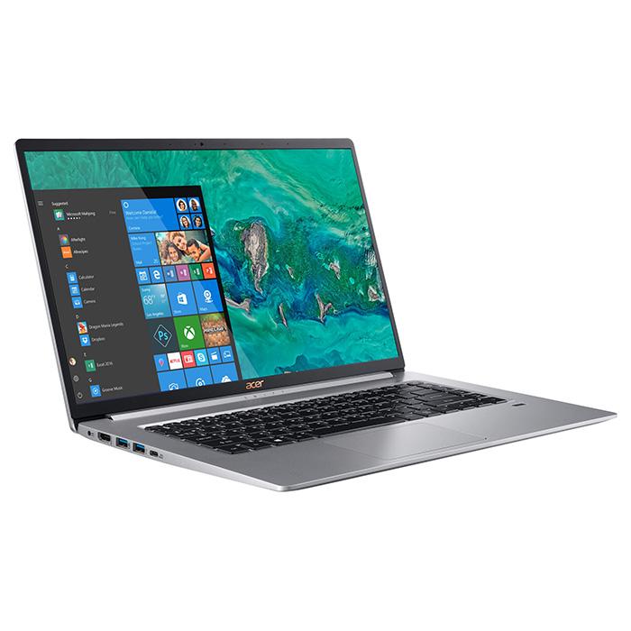 Ноутбук ACER Swift 5 SF515-51T Pure Silver (NX.H7QEU.012)