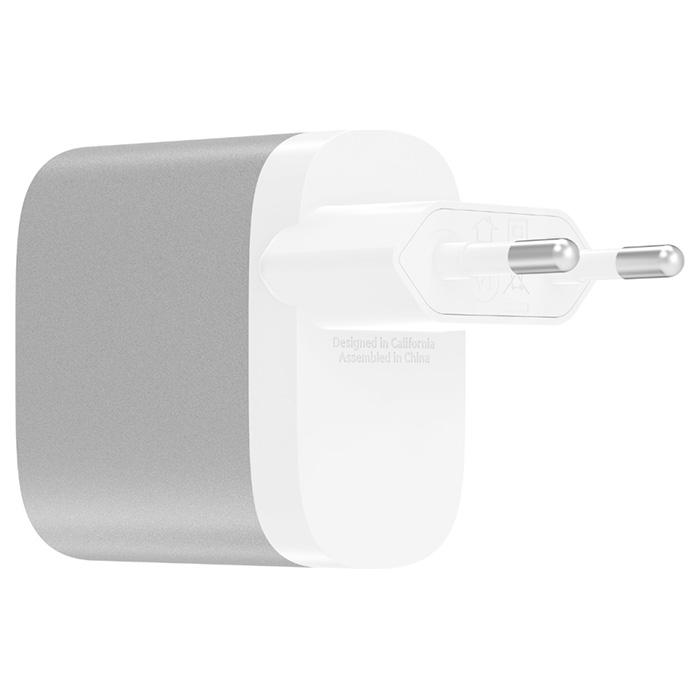 Зарядное устройство BELKIN Boost Up Charge 27W USB-C Home Charger (F7U060VF-SLV)