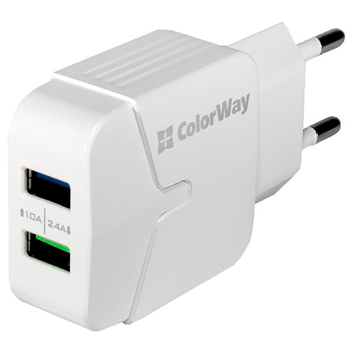 Зарядное устройство COLORWAY CW-CHS004-WT