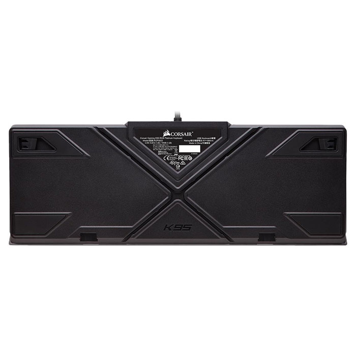 Клавіатура CORSAIR K95 RGB Platinum Cherry MX Speed RU Black (CH-9127014-RU)