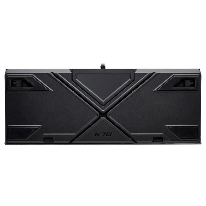 Клавіатура CORSAIR K70 RGB MK.2 Rapidfire Cherry MX Speed RU (CH-9109014-RU)