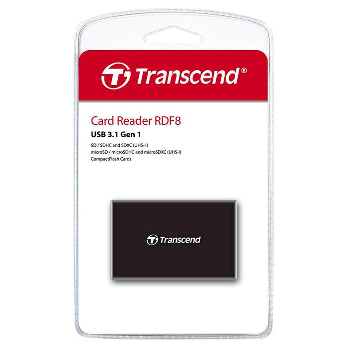 Кардридер TRANSCEND RDF8K2 Black (TS-RDF8K2)