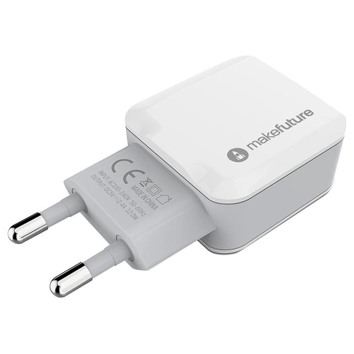 Зарядное устройство MAKEFUTURE MCW-21WH