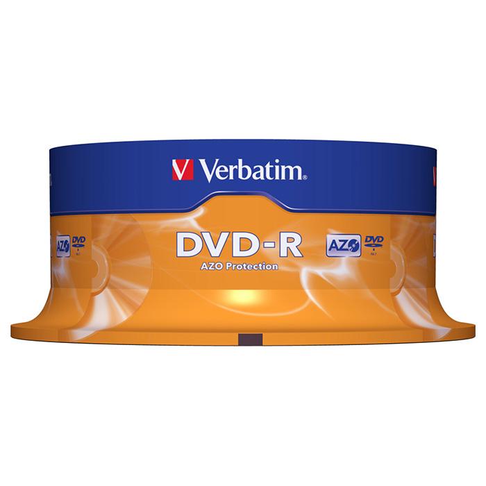DVD-R VERBATIM AZO 4.7GB 16x 25pcs/spindle (95058)