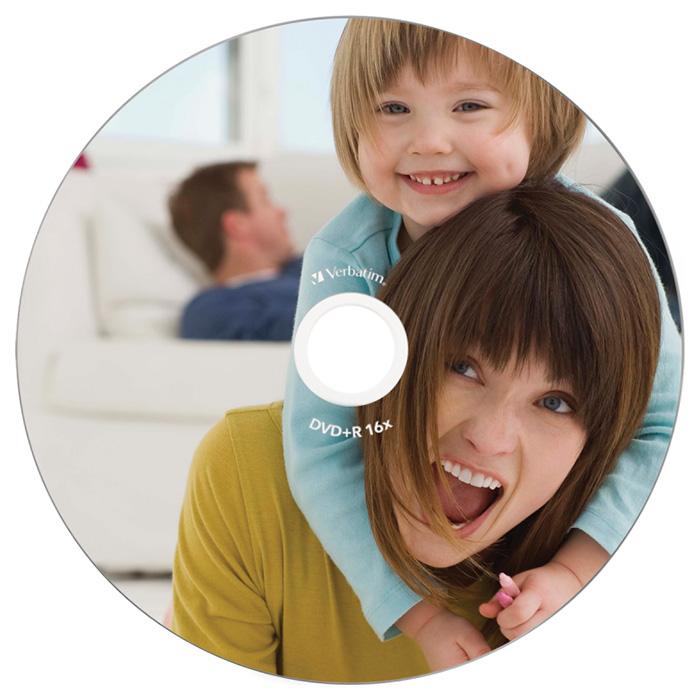 DVD+R VERBATIM AZO Printable 4.7GB 16x 50pcs/spindle (43651)