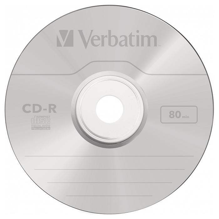 CD-R VERBATIM Music 700MB 16x 10pcs/jewel (43365)