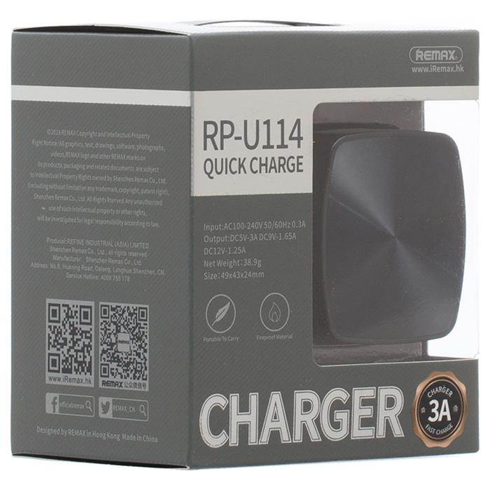 Зарядное устройство REMAX RP-U114 Black