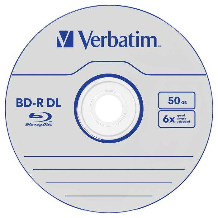 BD-R DL VERBATIM MABL 50GB 6x 5pcs/jewel (43748)