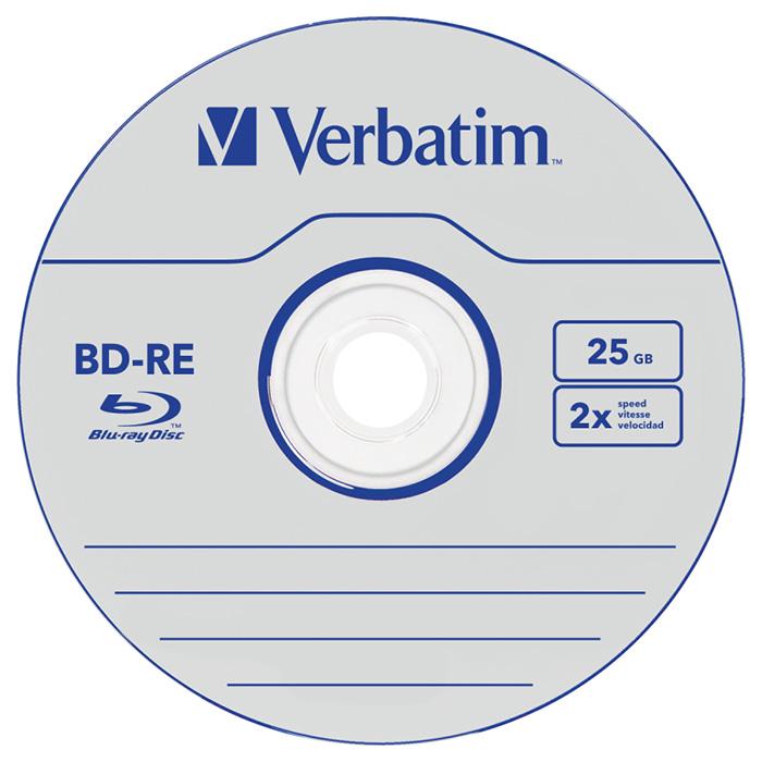 BD-RE VERBATIM SERL 25GB 2x 5pcs/jewel (43615)