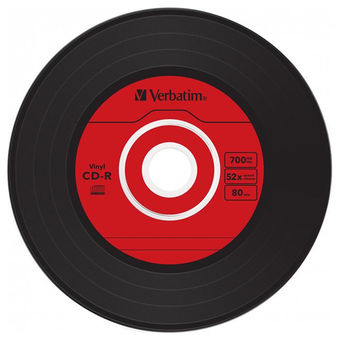 CD-R VERBATIM AZO Vinyl 700MB 52x 10pcs/spindle (43426)