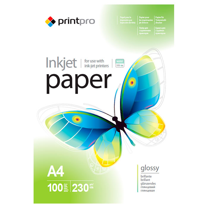 Фотопапір COLORWAY PrintPro A4 230г/м² 100л (PGE230100A4)