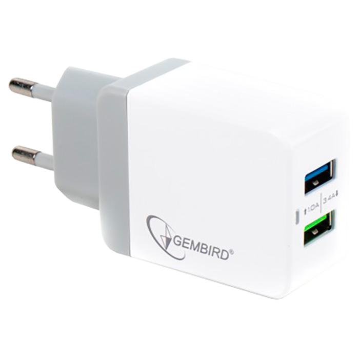 Зарядное устройство GEMBIRD MP3A-UC-AC10