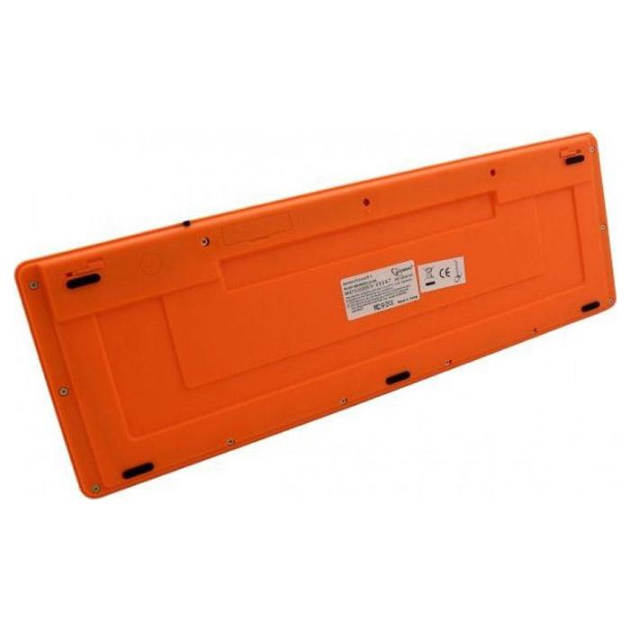 Клавіатура GEMBIRD KB-6050LU Black/Orange