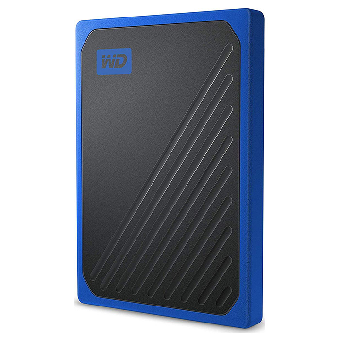 Портативный SSD WD My Passport Go 1TB Blue (WDBMCG0010BBT-WESN)