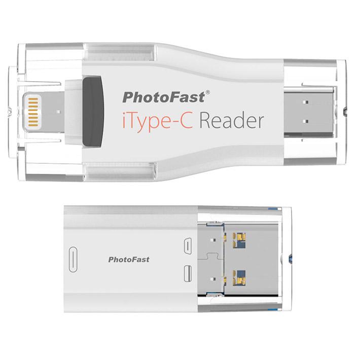 Кардридер PHOTOFAST iType-C Reader (IOS MICROSD ITYPEC READER)