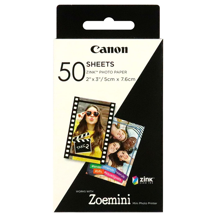 Фотопапір CANON Zink 5x7.6см 50л (3215C002)