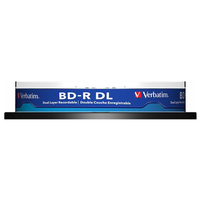 BD-R DL VERBATIM MABL 50GB 6x 10pcs/spindle (43746)