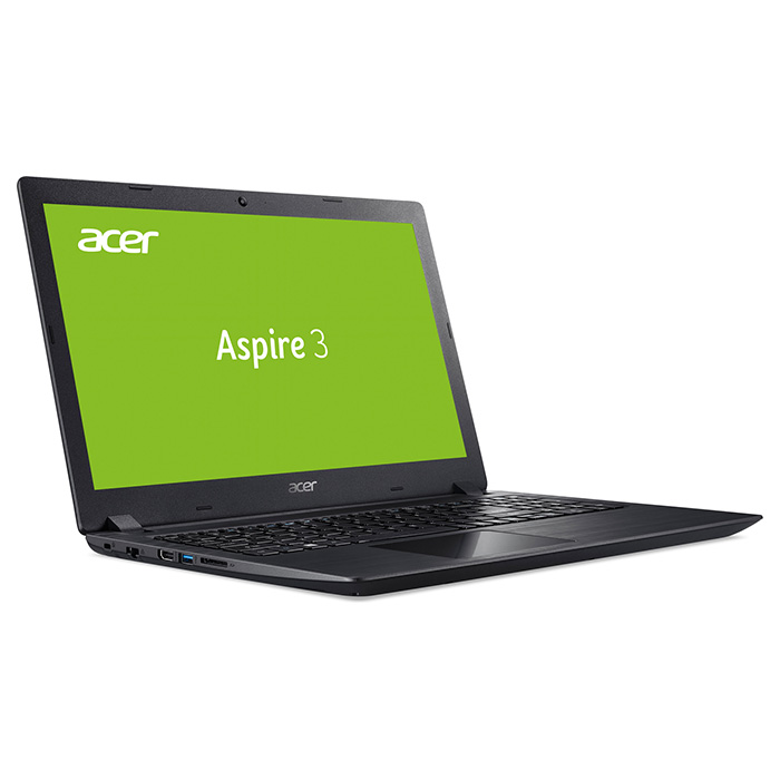 Ноутбук ACER Aspire 3 A315-51-333U Obsidian Black (NX.H9EEU.013)