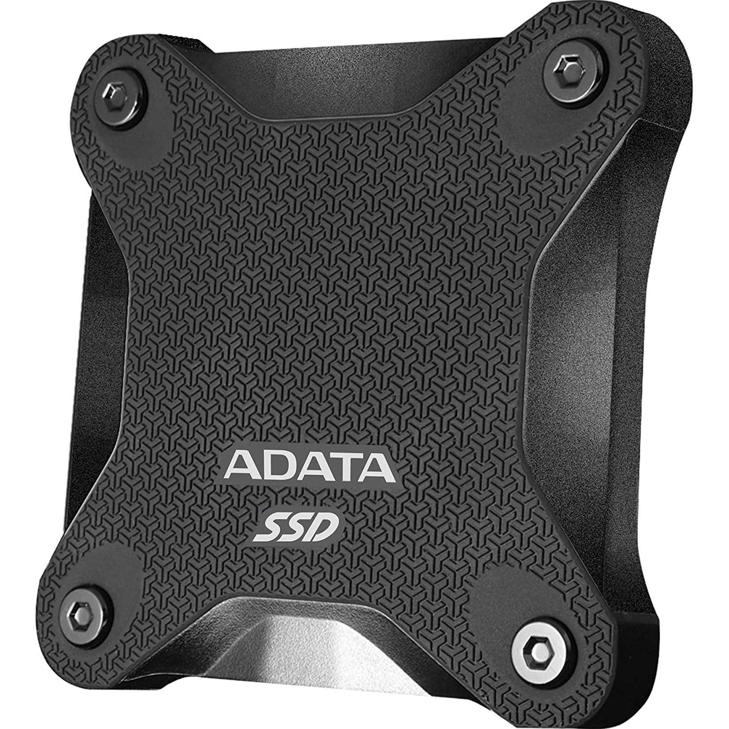 Портативный SSD ADATA SD600Q 480GB Black (ASD600Q-480GU31-CBK)