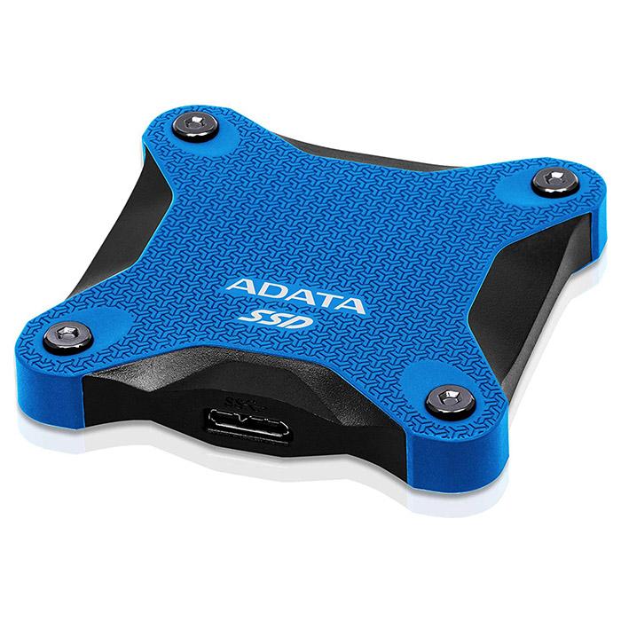 Портативный SSD ADATA SD600Q 240GB Blue (ASD600Q-240GU31-CBL)