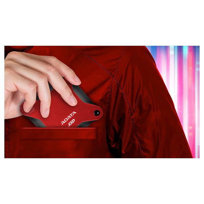 Портативный SSD ADATA SD600Q 240GB Red (ASD600Q-240GU31-CRD)