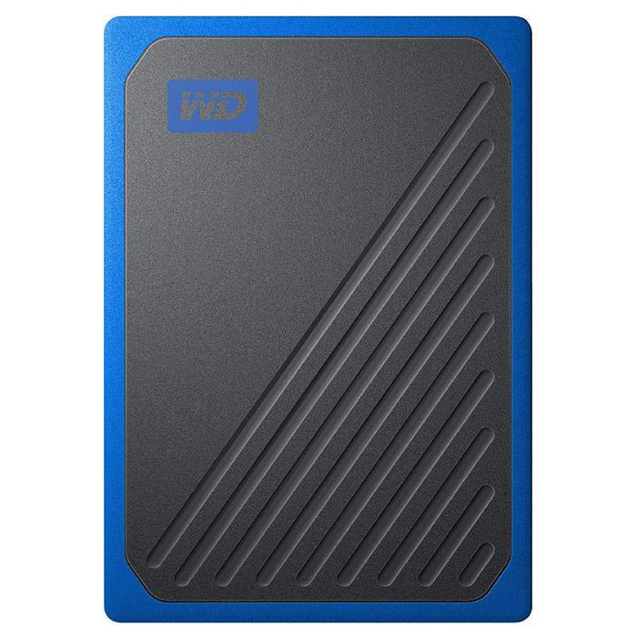 Портативный SSD WD My Passport Go 500GB Blue (WDBMCG5000ABT-WESN)
