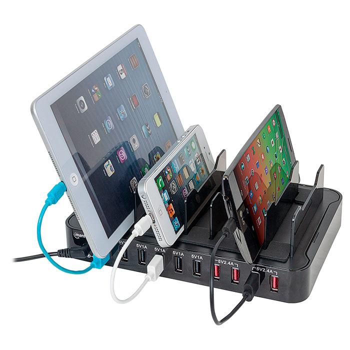 Зарядное устройство MANHATTAN 10-Port USB Charging Station (180009)