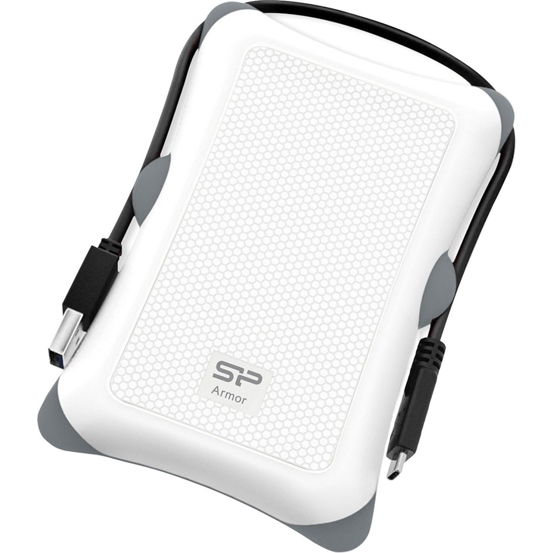 Портативный жёсткий диск SILICON POWER Armor A30 2TB USB3.2 White (SP020TBPHDA30S3W)