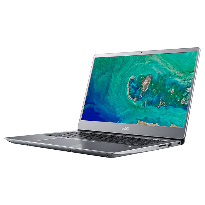 Ноутбук ACER Swift 3 SF314-56-37YQ Sparkly Silver (NX.H4CEU.010)
