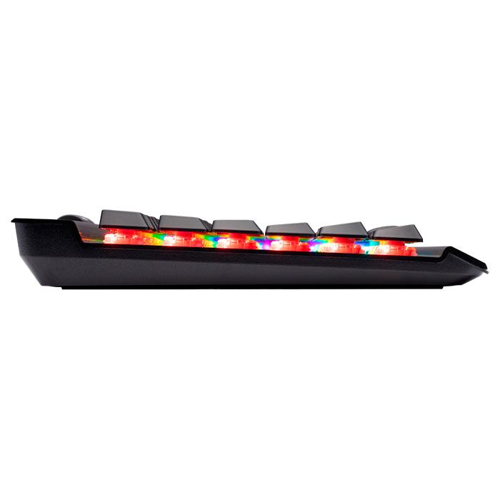 Клавіатура CORSAIR K70 RGB MK.2 Low Profile RapidFire Cherry MX Speed RU (CH-9109018-RU)