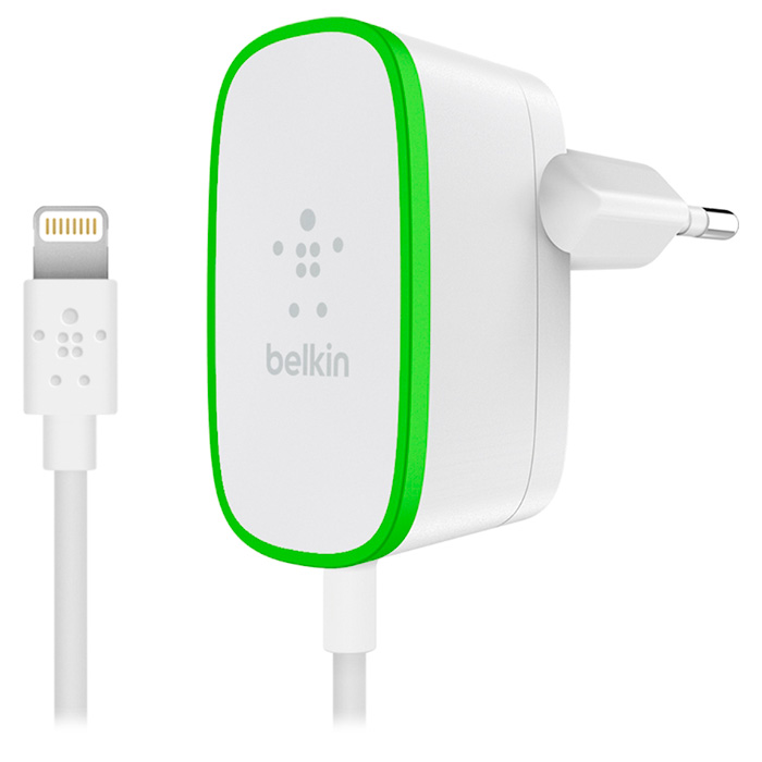 Зарядное устройство BELKIN Boost Up Home Charger Lightning (F8J204VF06-WHT)