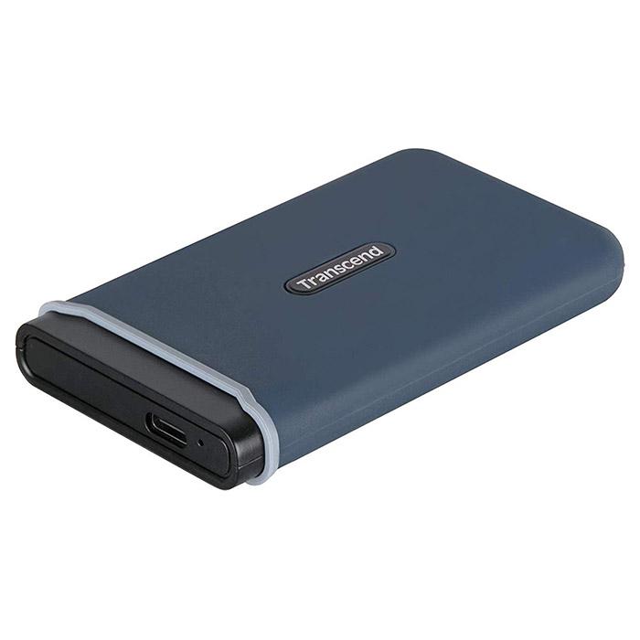 Портативный SSD TRANSCEND ESD350C 240GB Navy Blue (TS240GESD350C)