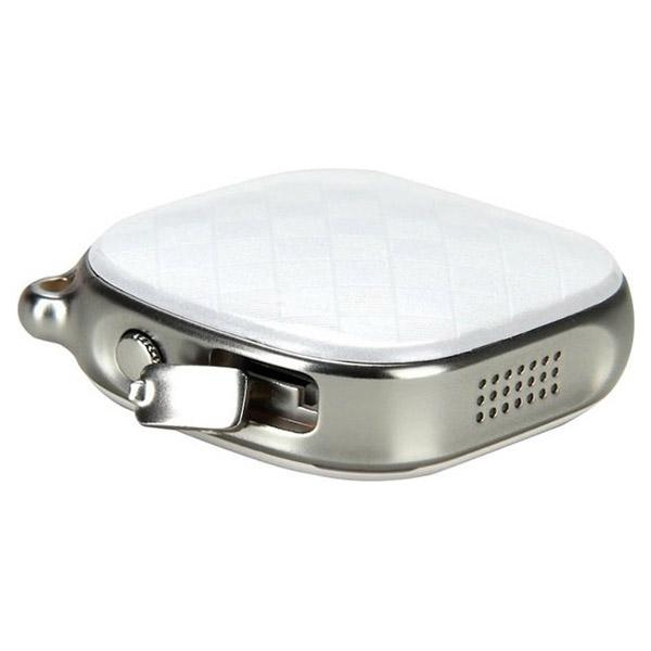 GPS-трекер кулон GOGPS D15 White (D15WH)
