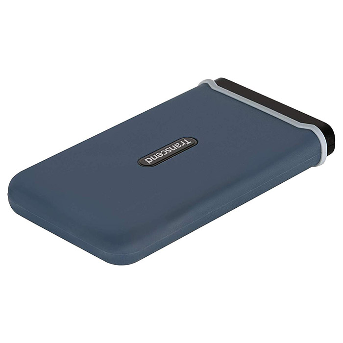 Портативный SSD TRANSCEND ESD350C 480GB Navy Blue (TS480GESD350C)