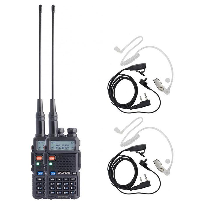 Рация BAOFENG UV-5R Security Black 2-pack