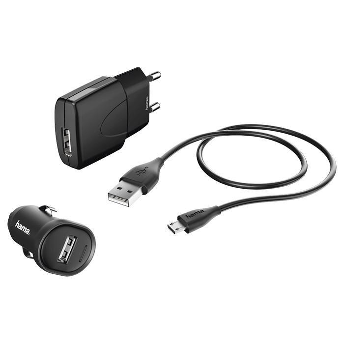 Зарядное устройство HAMA Picco Charger Kit (00173622)