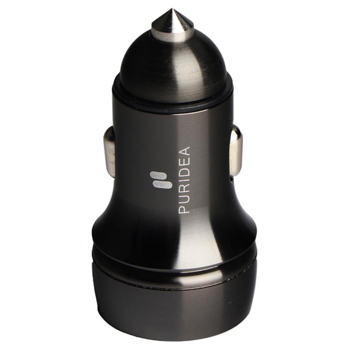 Автомобильное зарядное устройство PURIDEA CC05 Black