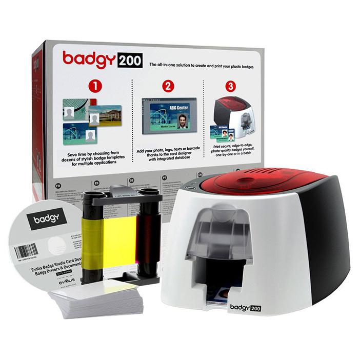 Принтер для друку на пластикових картах EVOLIS Badgy200