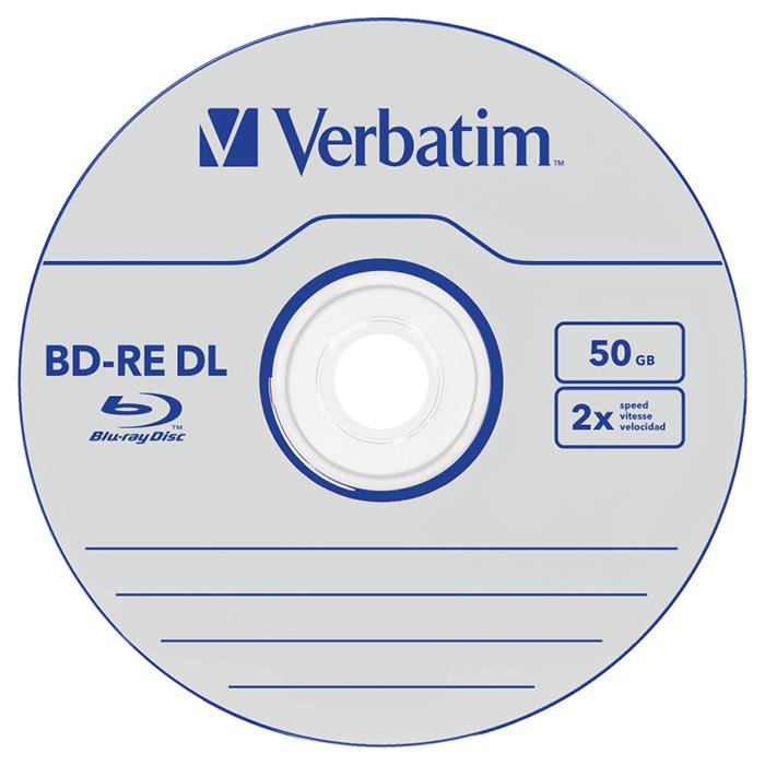 BD-RE DL VERBATIM SERL 50GB 2x 5pcs/jewel (43760)