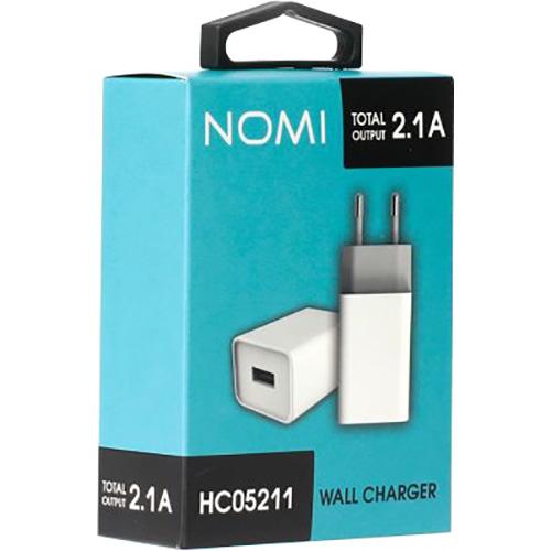 Зарядное устройство NOMI HC05211 White (481610)