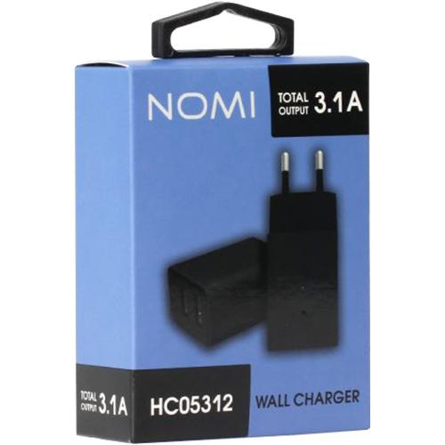 Зарядное устройство NOMI HC05312 Black (481613)