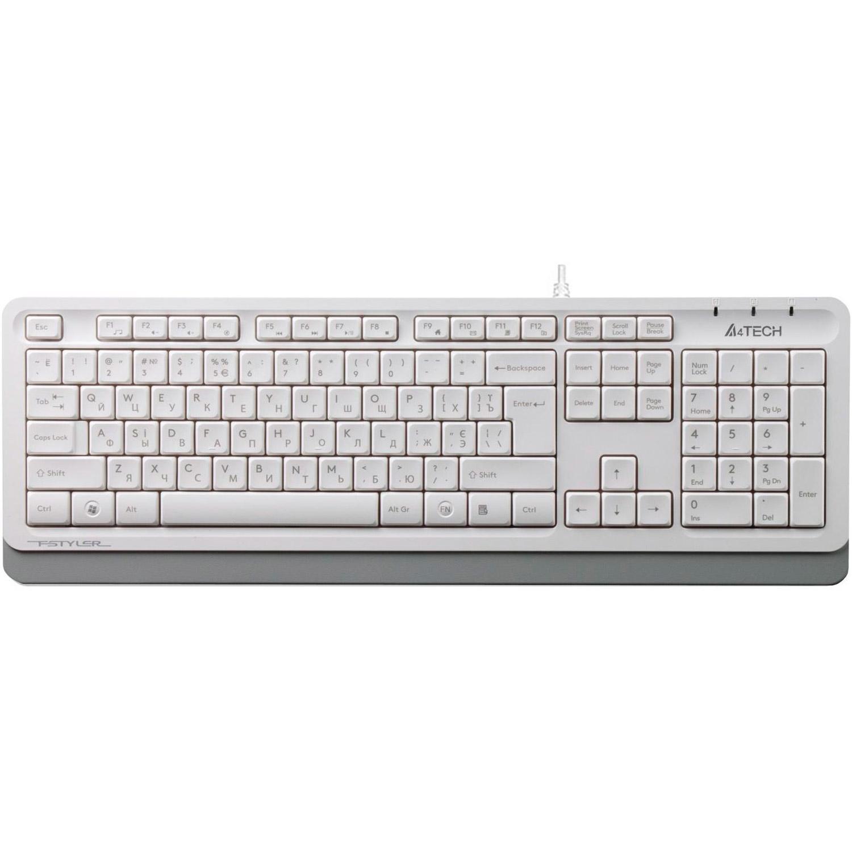 Клавіатура A4TECH Fstyler FK10 White